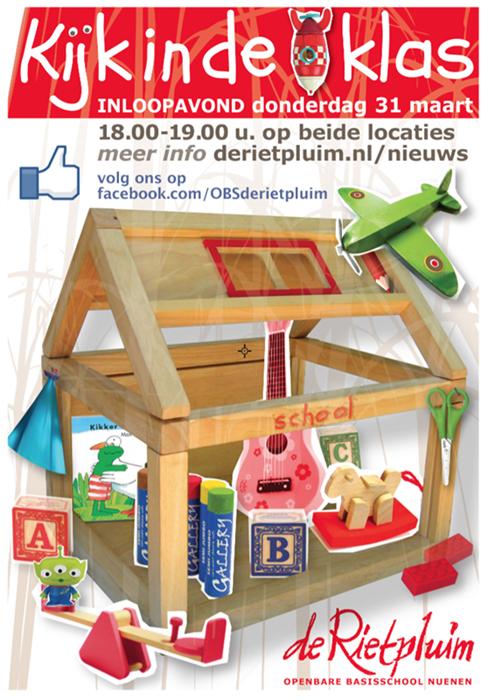 A4 poster open dag school